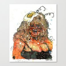 Edith Massey the Egg Lady Canvas Print