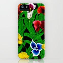 Large Calla Lillies iPhone Case