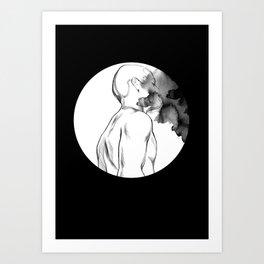 Full Moon Madness Art Print