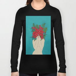 Blooming Red Long Sleeve T-shirt