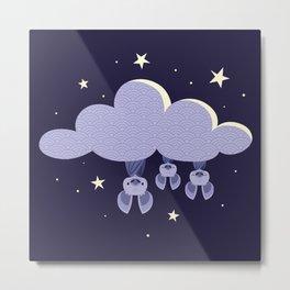 Dreaming bats Metal Print