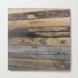 Planks Metal Print