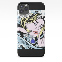 Drowning Alice iPhone Case
