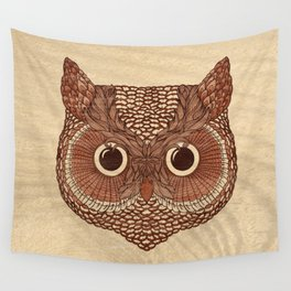 Owlustrations 2 Wall Tapestry