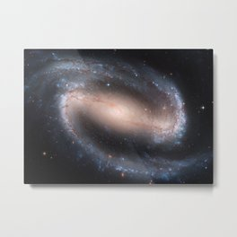 Barred Spiral Galaxy NGC 1300 Metal Print