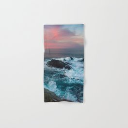 Sunset on the Bay of Biscay Hand & Bath Towel