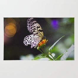 Butterflies + Twinkle Lights 1 Rug
