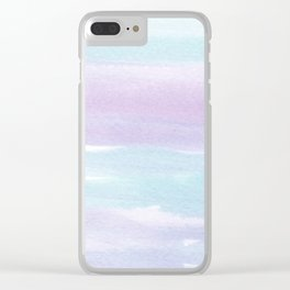 MINT & LILAC 2 Clear iPhone Case