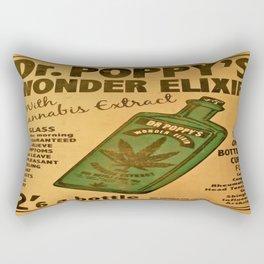 Vintage poster - Dr. Poppy's Wonder Elixir Rectangular Pillow