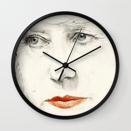Helen Mirren Wall Clock