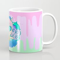 pastel goth Mugs featuring follo 4 more ~*pastel goth*~ by Ceebs
