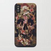 jungle iPhone & iPod Cases featuring Jungle Skull by Ali GULEC