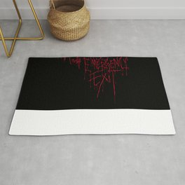 Madness Emergency Exit Rug