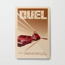 Duel Metal Print