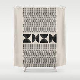 Tribal Boho Art Shower Curtain