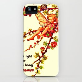 Heavy dreamer iPhone Case