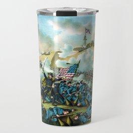 The Capture of Fort Fisher -- Civil War Travel Mug