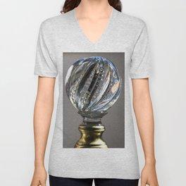 the crystal ball Unisex V-Neck