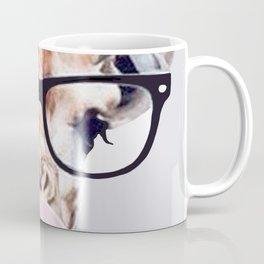 Giraffe Wearing Glasses blowing Bubblegum Coffee Mug