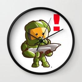 Halo Master Chief Kawaii Wall Clock