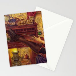 Absinthe And Memories Stationery Cards