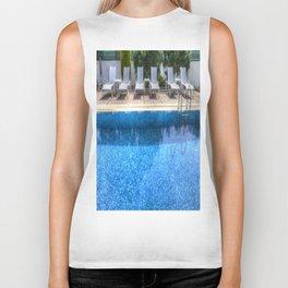 Summer Swimming Pool Biker Tank
