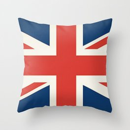 Union Jack UK Flag Throw Pillow