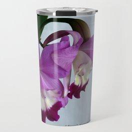 Laeliocattleya Orchid Travel Mug