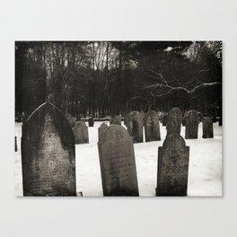 Revolutionary Cemetery Canvas Print