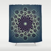 portal Shower Curtains featuring Portal by Truly Juel