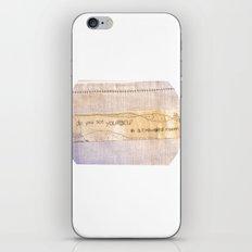 yourself iPhone & iPod Skin