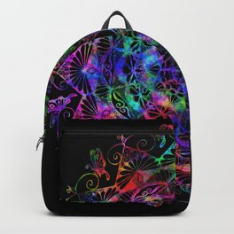 Butterfly mandala Backpack