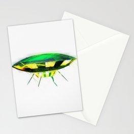 Retro UFO Stationery Cards