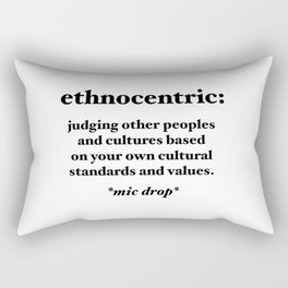 Ethnocentric Rectangular Pillow