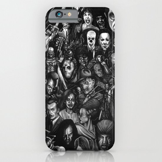 Many Faces iPhone & iPod Case