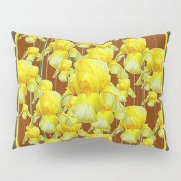 """""""FOR LOVE OF YELLOW IRIS"""" Pillow Sham"""