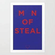 M_N of Steal Art Print