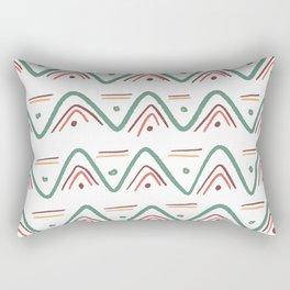 Zig Zags - Autumn Rectangular Pillow