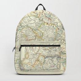 Vintage Map - Spruner-Menke Handatlas (1880) - 24 Central-Northern Italy 1137 - 1302 Backpack