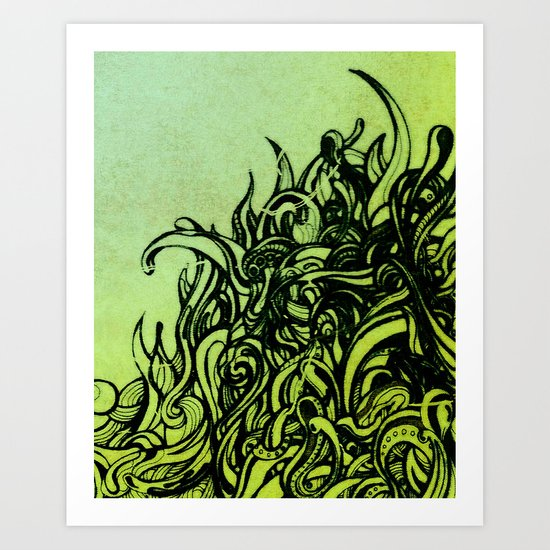 REM 2 Art Print