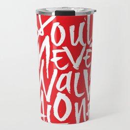 Liverpool FC - You'll Never Walk Alone Travel Mug