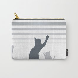 Urban Grey Cats Carry-All Pouch