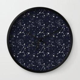 Zodiac Constellations - Leo Wall Clock