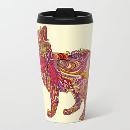Fox by Day Travel Mug