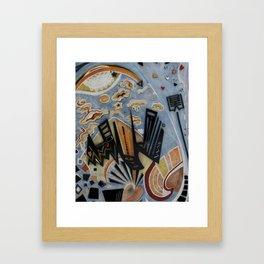 Up! Up! Always Up! Framed Art Print