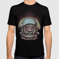 Fly Me To The Moon Mens Fitted Tee Black MEDIUM