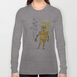 Yellow Wants To Go Out Like A Blister In The Sun Long Sleeve T-shirt