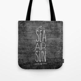 Sea, Air & Sun Tote Bag