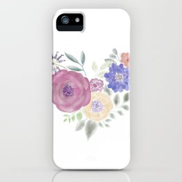 HeArt Floral iPhone Case