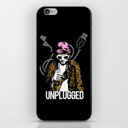 Cobain Unplugged iPhone Skin